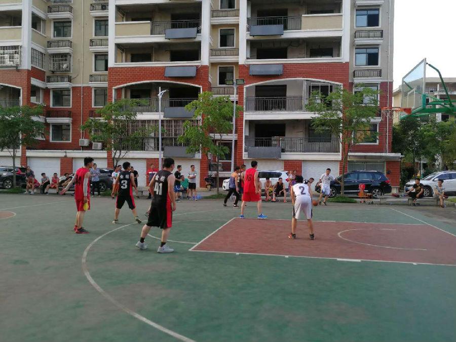公司篮球赛